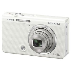 カシオ デジタルカメラ ホワイト EX-ZR70WE [EXZR70WE]