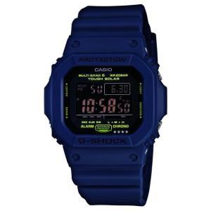 カシオ ソーラー電波腕時計 ネイビー GW-M5610NV-2JF [GWM5610NV2JF]