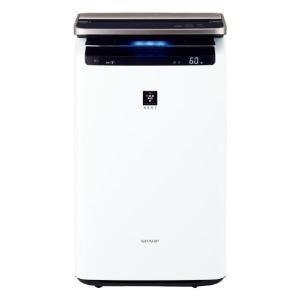 シャープ 加湿空気清浄機 ホワイト系 KINP100W [KINP100W]