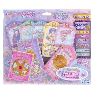 リルリルフェアリルたちがメッセージをくれる。可愛い絵柄のキャラクターカード16枚!魔法のペンデュラム...