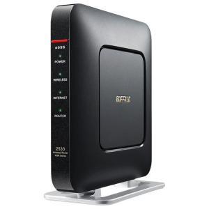BUFFALO 11ac/n/a/g/b 1733+800Mbps 無線LAN親機 クールブラック WSR-2533DHP-CB [WSR2533DHPCB]