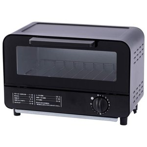 シンプルデザインで簡単操作の2枚焼きオーブントースター。