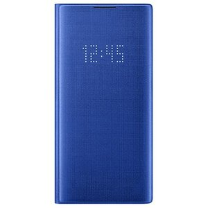 サムスン Galaxy Note10+用 LED VIEW COVER ブルー EF-NN975PL...