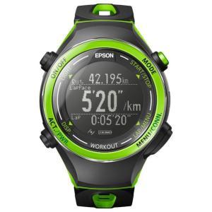 エプソン 活動量計機能搭載GPSウォッチ グリーン SF-720G [SF720G]