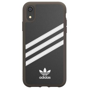 adidas OR Moulded case PU Gumsole for iPhoneXR black whiteの商品画像|ナビ