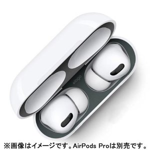 elago DUST GUARD for AirPods Pro Matte Space Grey ...