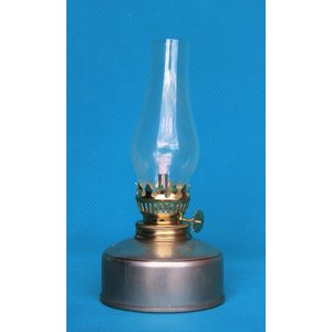 棒芯アイアンランプ  シンプルクリアーホヤ 35120  灯油ランプ