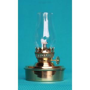 棒芯真鍮ランプ  クリアミニホヤ 40320  灯油ランプ
