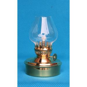棒芯真鍮ランプ  クリア豆ホヤ 42120  灯油ランプ