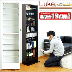 コレクションラック【-Luke-ルーク】浅型ハイタイプ edosho