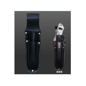 ニックス KNICKS 電工ナイフ・カッター2段ホルダー KB-112 黒 新品|edougukann