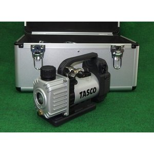 タスコ オイル逆流防止機能付ウルトラミニ充電式真空ポンプ TA150ZP 本体+ケ-ス 新品