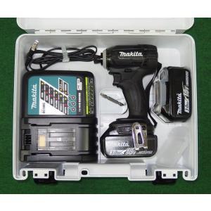 マキタ 18V防塵防滴インパクトドライバー TD149DRFXB 商品ページ