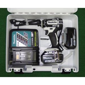 マキタ 18V防塵防滴インパクトドライバー TD149DRFXW フルセット 白 新品!|edougukann