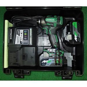 日立 36V コードレスBLインパクトドライバ WH36DA(2XP)L アグレッシブグリーン 新品|edougukann