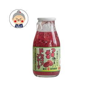 つるぷるドラゴンフルーツ 清涼飲料水 180ml 渡具知 沖縄産 特産品 ドラゴンフルーツ 寒天 沖縄県産ドラゴンフルーツと寒天でとろり新食感|飲料水・ジュース|