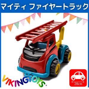 おもちゃ 1歳 誕生日プレゼント 一歳 誕生日 プレゼント ランキング 男 VIKINGTOYS バイキングトイズ マイティ ファイヤートラック|edute