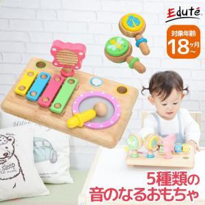 ファースト MUSIC SET 1歳 誕生日プレゼント 楽器玩具 楽器 おもちゃ 玩具 木製
