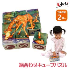 サファリキューブズ 積み木 知育 おしゃれ 知育玩具 2歳 誕生日プレゼント 木のおもちゃ
