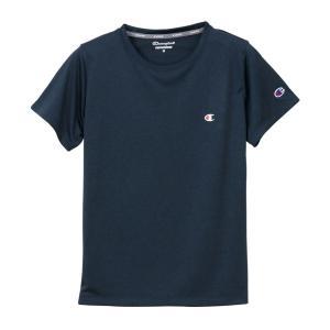 チャンピオン ウィメンズ C VAPOR Tシャツ CW-PS302 370(ネイビー) レディース Champion C VAPOR T-SHIRT|ee-powers