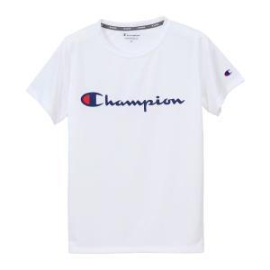 チャンピオン ウィメンズ C VAPOR Tシャツ CW-PS303 010(ホワイト) レディース Champion C VAPOR T-SHIRT|ee-powers