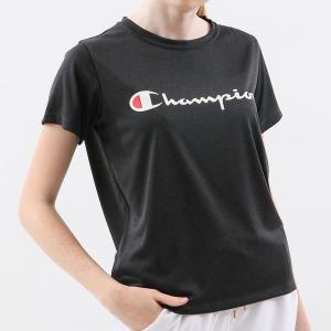 チャンピオン ウィメンズ C VAPOR Tシャツ CW-PS303 090(ブラック) レディース Champion C VAPOR T-SHIRT|ee-powers