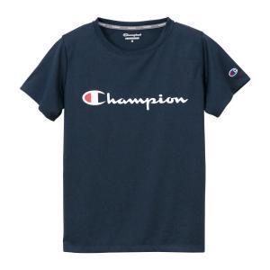 チャンピオン ウィメンズ C VAPOR Tシャツ CW-PS303 370(ネイビー) レディース Champion C VAPOR T-SHIRT|ee-powers
