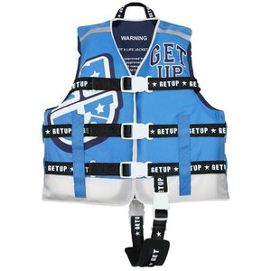 GETUP ゲットアップ LIFE VEST ライフベスト BLUE×WHITE GCL-37100 キッズ・ジュニア|ee-powers