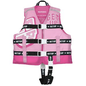 GETUP ゲットアップ LIFE VEST ライフベスト PINK×R.PINK GCL-37100 キッズ・ジュニア|ee-powers