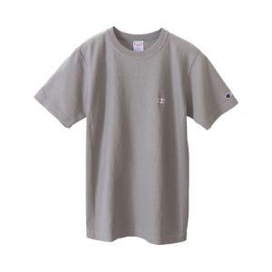 Champion チャンピオン リバースウィーブTシャツ 050/ミディアムグレー C3-M306 メンズ|ee-powers