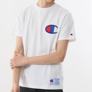 チャンピオン Tシャツ C3-F362 010(ホワイト) メンズ Champion T-SHIRT ee-powers