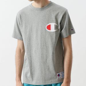 チャンピオン Tシャツ C3-F362 070(オックスフォードグレー) メンズ Champion T-SHIRT ee-powers