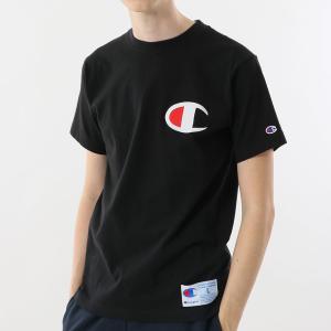 チャンピオン Tシャツ C3-F362 090(ブラック) メンズ Champion T-SHIRT ee-powers