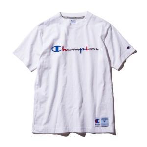 チャンピオン Tシャツ C3-H371 010(ホワイト) メンズ Champion T-SHIRT ee-powers
