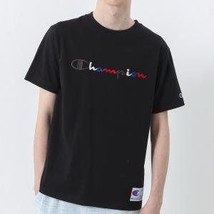 チャンピオン Tシャツ C3-H371 090(ブラック) メンズ Champion T-SHIRT ee-powers