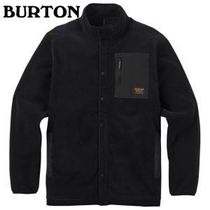 バートン Hearth Snap-Up Fleece True Black 173511 メンズ|ee-powers