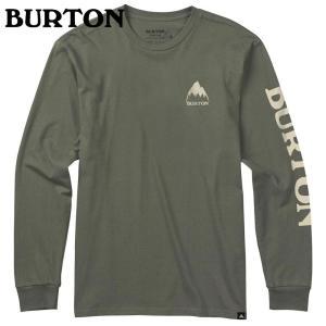 BURTON バートン Elite LS Tee Dusty Olive 189551 スノーボード メンズ|ee-powers