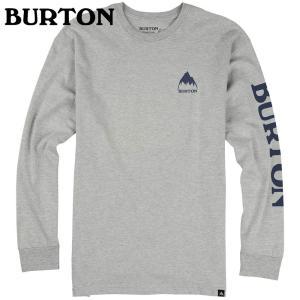 BURTON バートン Elite LS Tee Gray Heather 189551 スノーボード メンズ|ee-powers