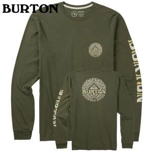 BURTON バートン Monterey LS Tee Dusty Olive 189321 スノーボード メンズ|ee-powers