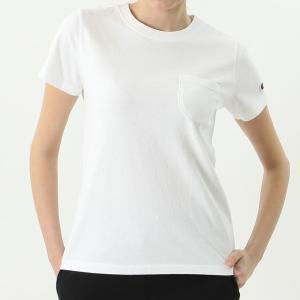 チャンピオン ウィメンズ ポケットTシャツ CW-M321 010(ホワイト) レディース Champion POCKET T-SHIRT|ee-powers