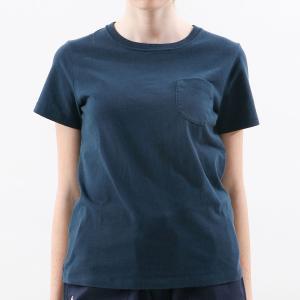 チャンピオン ウィメンズ ポケットTシャツ CW-M321 370(ネイビー) レディース Champion POCKET T-SHIRT|ee-powers