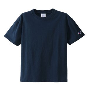 チャンピオン ウィメンズ クルーネックTシャツ CW-M322 370(ネイビー) レディース Champion CREW NECK T-SHIRT|ee-powers