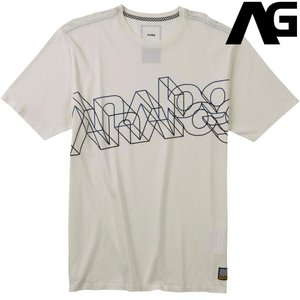 アナログ Analog Myrtle Short Sleeve T Shirt Stout White 190071 スノーボード ウェア メンズ|ee-powers
