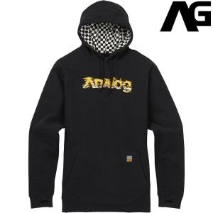 アナログ Analog Boerum Pullover Hoodie True Black 190011 スノーボード ウェア メンズ|ee-powers