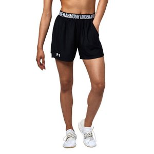 アンダーアーマー Play up Long Shorts Black(001) 1319754 レディース|ee-powers