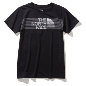 ノースフェイス ショートスリーブスウィフトロゴティー NTW31984 K レディース THE NORTH FACE S/S Swift Logo Tee|ee-powers