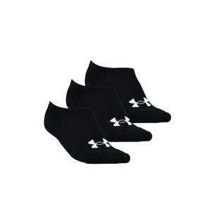 アンダーアーマー 3P SOLO SOCKS Black/White(001) 1295335 ユニセックス|ee-powers
