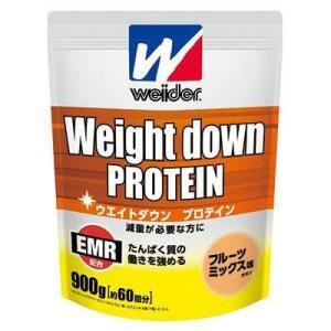 ウィダー weider ウエイトダウンプロテイン フルーツミックス味 900g スポーツ プロテイン・サプリ|ee-powers