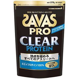 SAVAS ザバスプロ クリアプロテイン 378g スポーツ プロテイン・サプリ|ee-powers