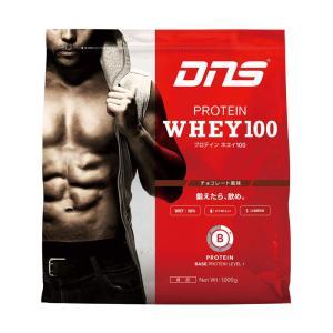 ディーエヌエス DNS プロテインホエイ100/チョコレート風味 1kg スポーツ プロテイン・サプリ|ee-powers